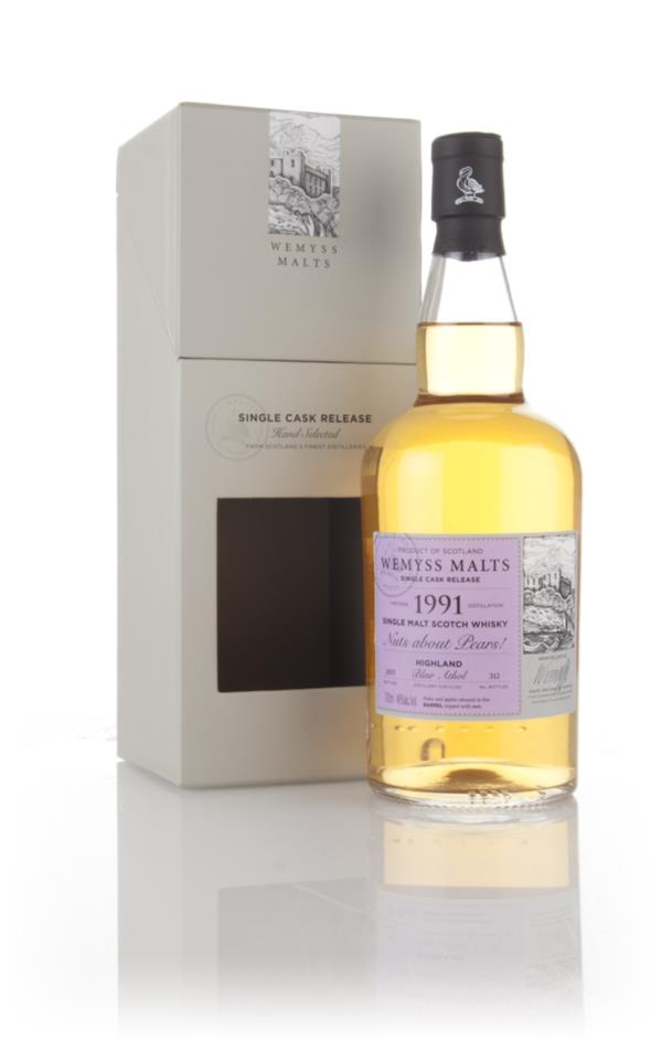 Nuts about Pears! 1991 (bottled 2015) - Wemyss Malts (Blair Athol) 3cl Single Malt Whisky 3cl Sample