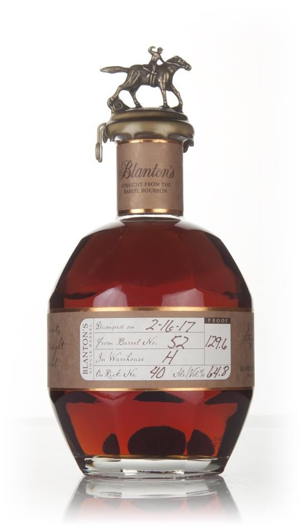 Blantons Straight From The Barrel - Barrel 52 Bourbon Whiskey