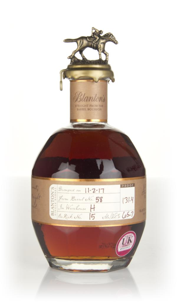 Blantons Straight From The Barrel - Barrel 58 Bourbon Whiskey