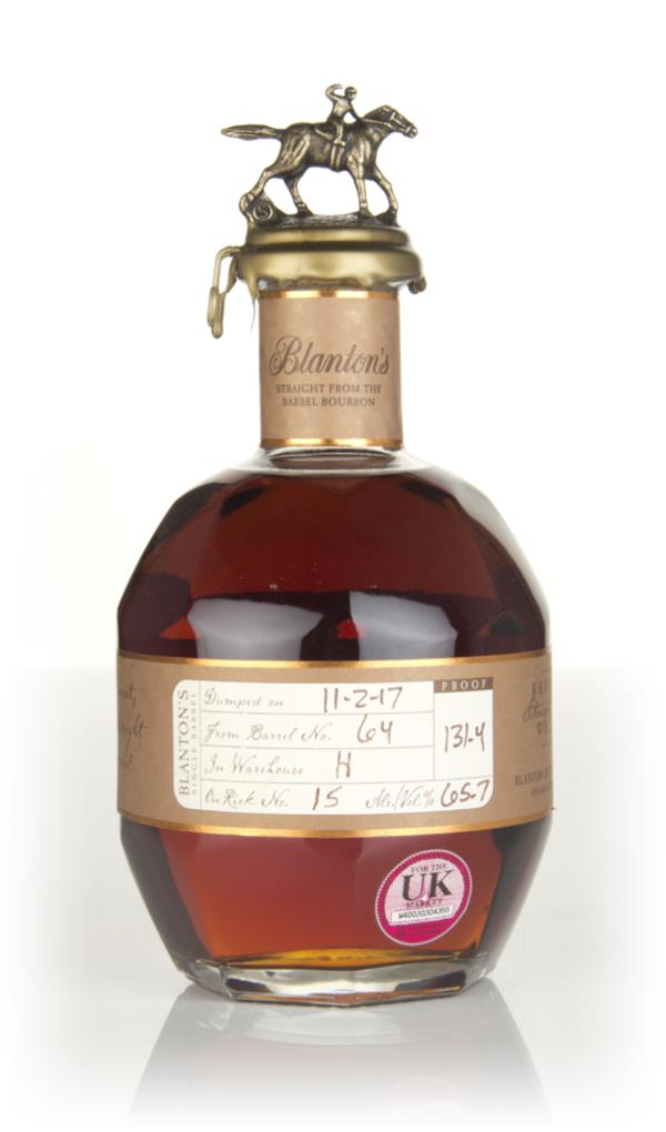 Blantons Straight From The Barrel - Barrel 64 Bourbon Whiskey
