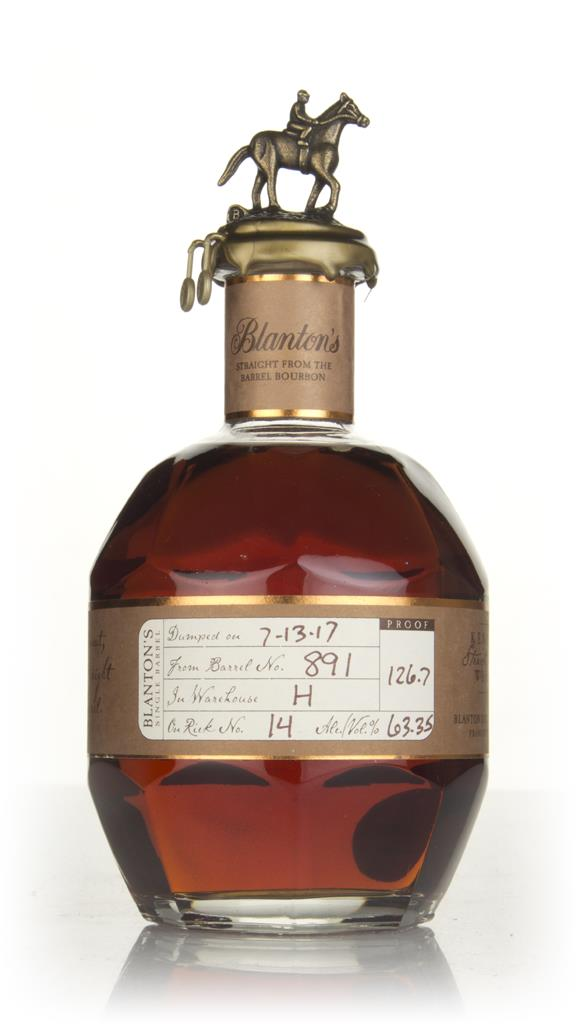 Blanton's Straight From The Barrel - Barrel 891 Bourbon Whiskey