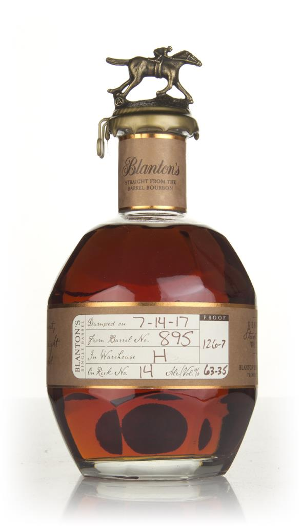 Blanton's Straight From The Barrel - Barrel 895 Bourbon Whiskey
