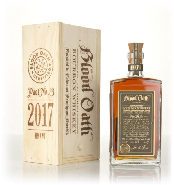 Blood Oath Bourbon - Pact No.3 Bourbon Whiskey