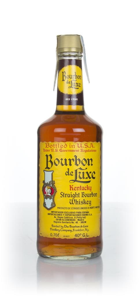 Bourbon de Luxe 4 Year Old - 1990s Bourbon Whiskey