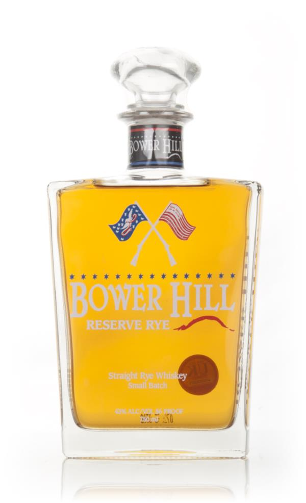 Bower Hill Reserve Rye 3cl Sample Rye Whiskey