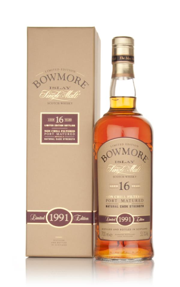 Bowmore 16 Year Old 1991 Port Matured Single Malt Whisky
