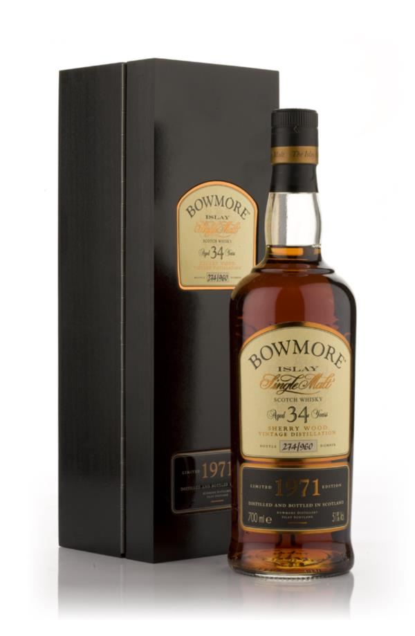 Bowmore 34 Year Old 1971 Single Malt Whisky