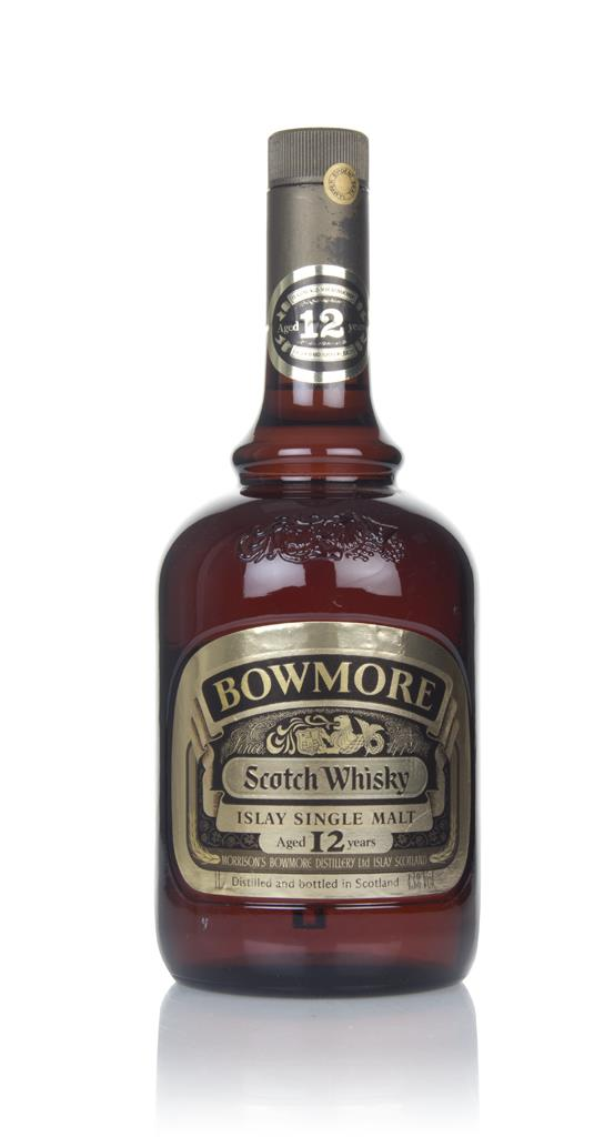 Bowmore 12 Year Old (1L) - 1980s Single Malt Whisky