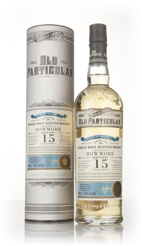 Bowmore 15 Year Old 2001 (cask 11804) - Old Particular (Douglas Laing) Single Malt Whisky