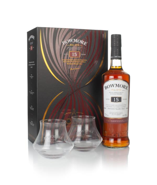 Bowmore 15 Year Old Gift Pack with Decanter Single Malt Whisky