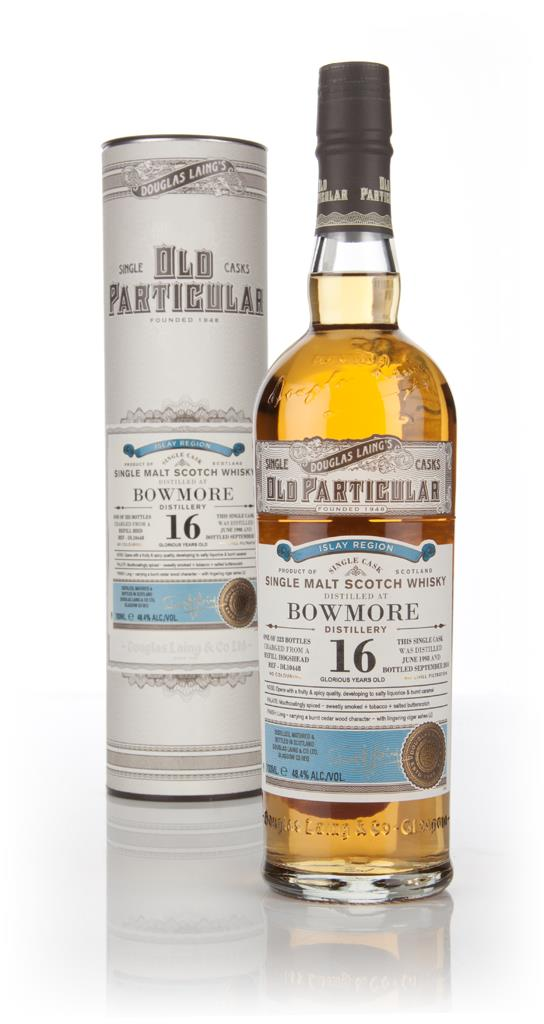 Bowmore 16 Year Old 1998 (cask 10448) - Old Particular (Douglas Laing) Single Malt Whisky 3cl Sample