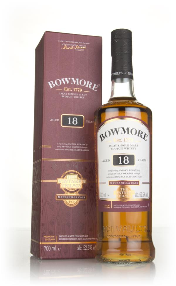 Bowmore 18 Year Old - The Vintners Trilogy Single Malt Whisky