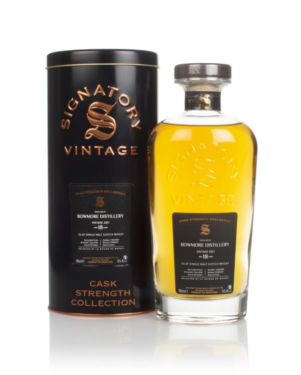 Bowmore 18 Year Old 2001 (cask 106) - Cask Strength Collection (Signat Single Malt Whisky