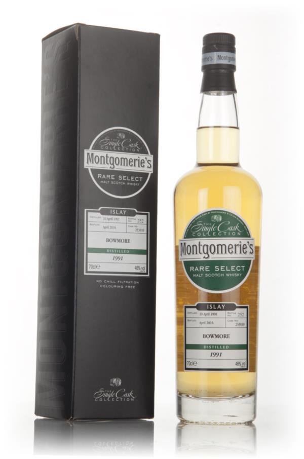 Bowmore 1991 (bottled 2016) (cask 253010) - Rare Select (Montgomeries Single Malt Whisky 3cl Sample