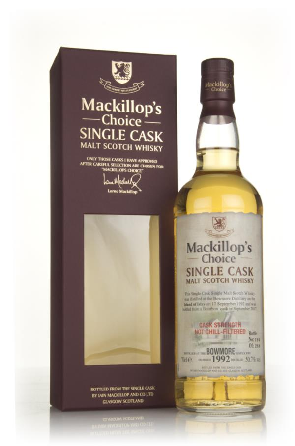 Bowmore 1992 (bottled 2017) - Mackillops Choice 3cl Sample Single Malt Whisky