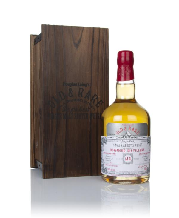 Bowmore 21 Year Old 1990 - Old & Rare Platinum (Douglas Laing) Single Malt Whisky