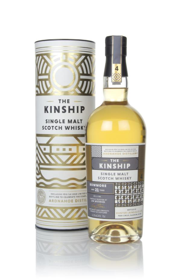 Bowmore 21 Year Old - The Kinship (Hunter Laing) Single Malt Whisky