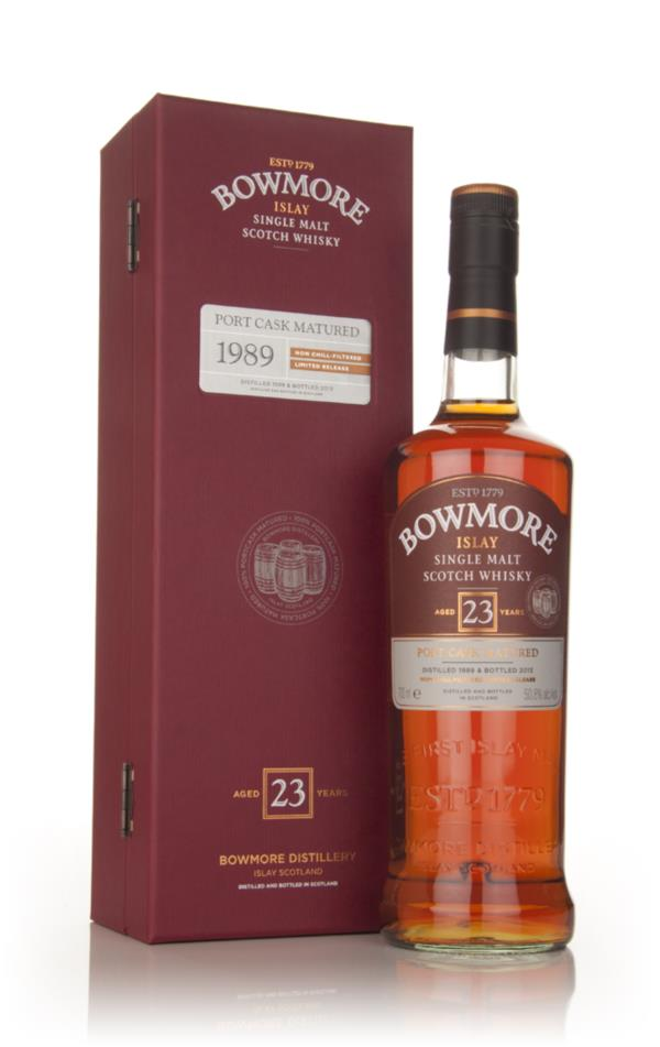 Bowmore 23 Year Old 1989 Port Matured Single Malt Whisky