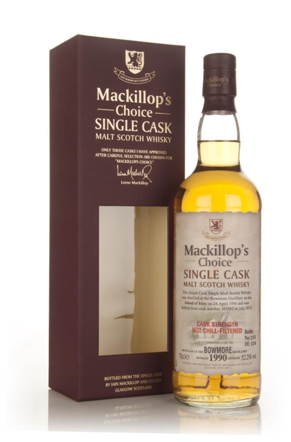 Bowmore 23 Year Old 1990 (cask 185082) - Mackillop's Choice 3cl Sample Single Malt Whisky