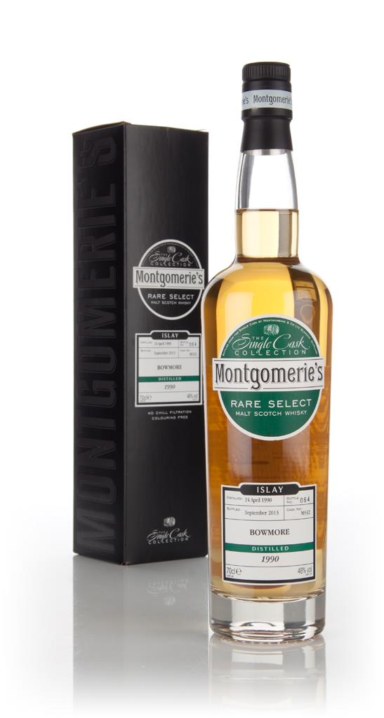 Bowmore 23 Year Old 1990 (cask 532) - Rare Select (Montgomeries) 3cl Single Malt Whisky 3cl Sample