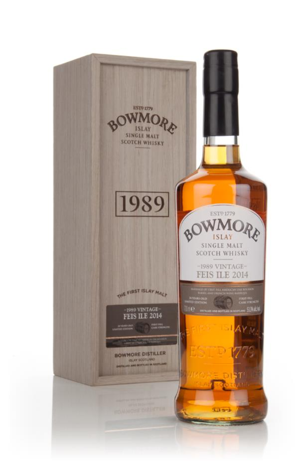 Bowmore 24 Year Old 1989 - Feis Ile 2014 Single Malt Whisky