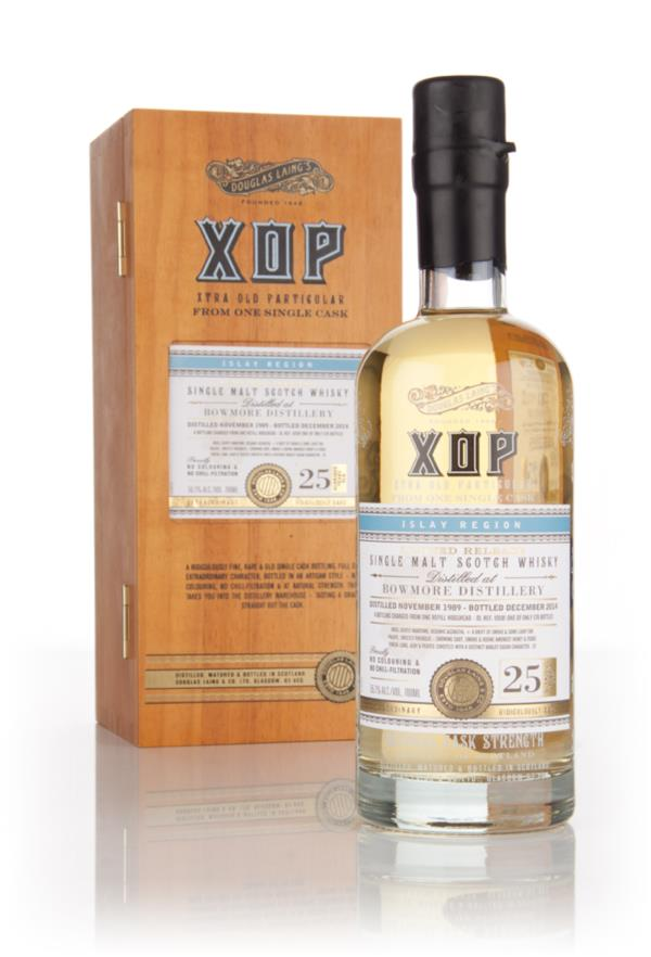 Bowmore 25 Year Old 1989 (cask 10581) -  Xtra Old Particular (Douglas Single Malt Whisky 3cl Sample