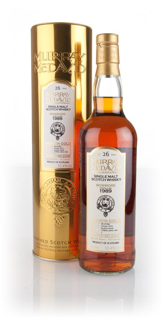 Bowmore 26 Year Old 1989 (cask 3) - Mission Gold (Murray McDavid) 3cl Single Malt Whisky 3cl Sample