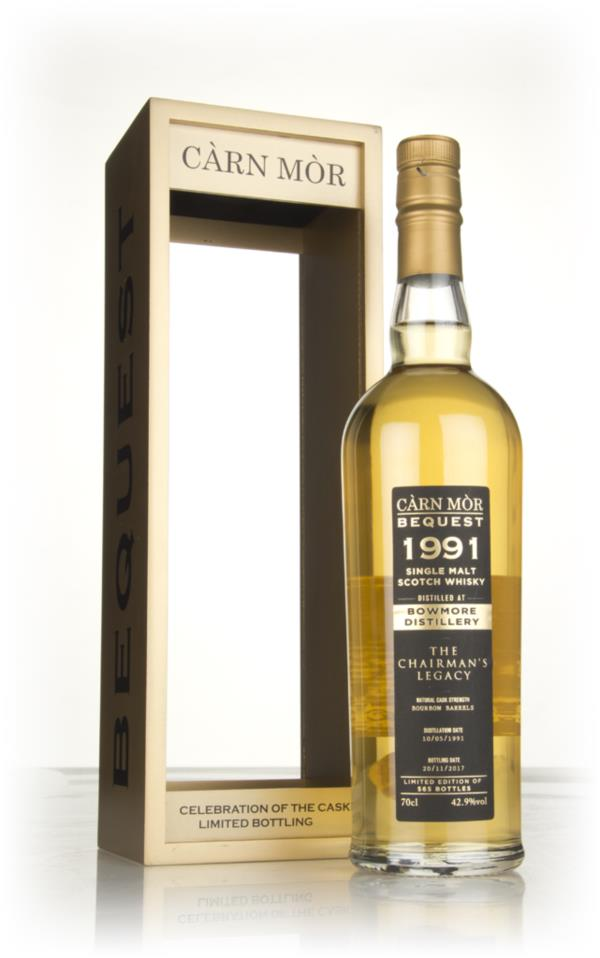 Bowmore 26 Year Old 1991 - The Chairmans Legacy (Carn Mor Bequest) Single Malt Whisky