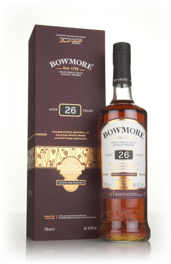 Bowmore 26 Year Old - The Vintners Trilogy Single Malt Whisky