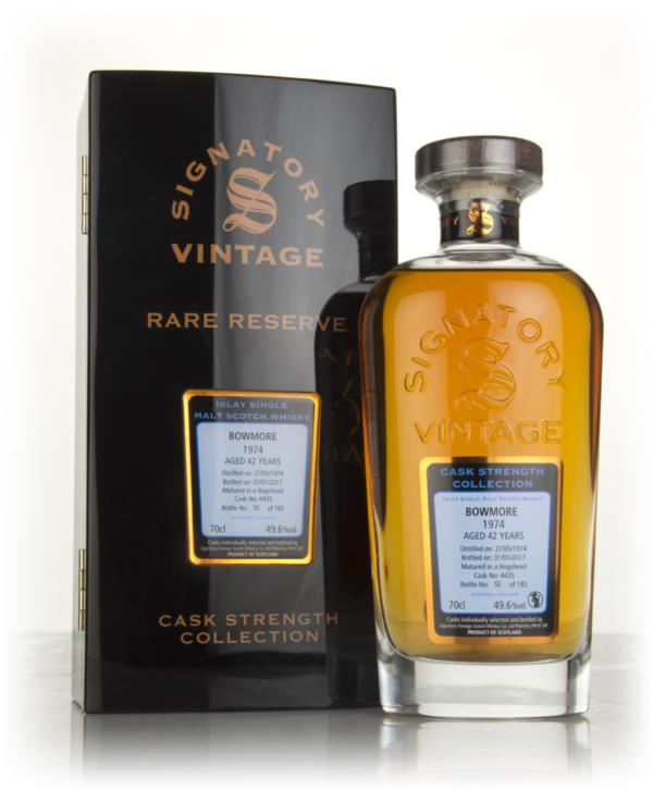 Bowmore 42 Year Old 1974 (cask 4435) - Cask Strength Collection Rare R Single Malt Whisky