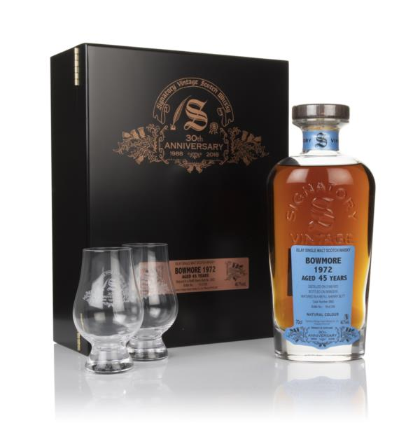 Bowmore 45 Year Old 1972 (cask 3882) - 30th Anniversary Gift Box (Sign Single Malt Whisky