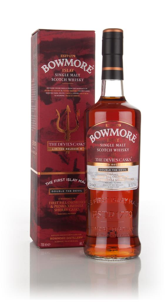 Bowmore The Devils Casks III - Double The Devil 3cl Sample Single Malt Whisky