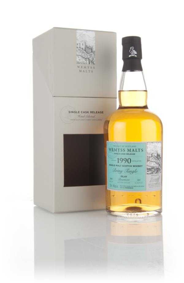 Briny Tangle 1990 (bottled 2015) - Wemyss Malts (Bowmore) 3cl Sample Single Malt Whisky