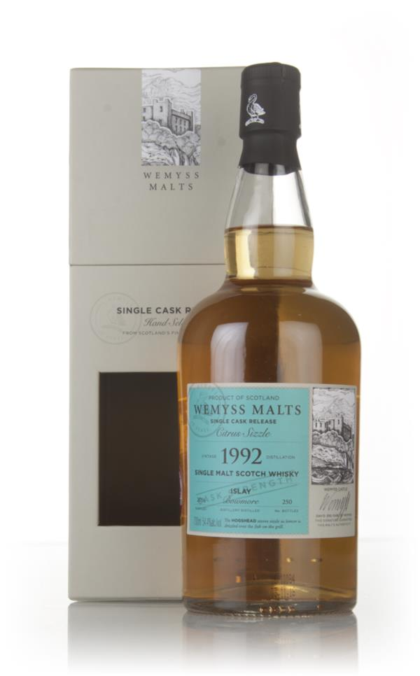 Citrus Sizzle 1992 (bottled 2016) - Wemyss Malts (Bowmore) Single Malt Whisky