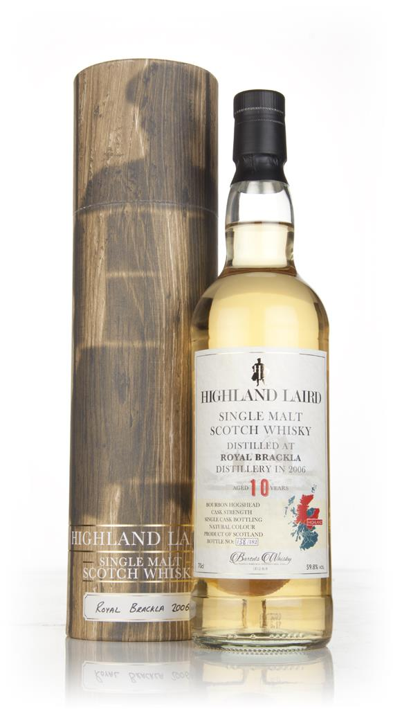 Royal Brackla 10 Year Old 2006 - Highland Laird (Bartels Whisky) Single Malt Whisky