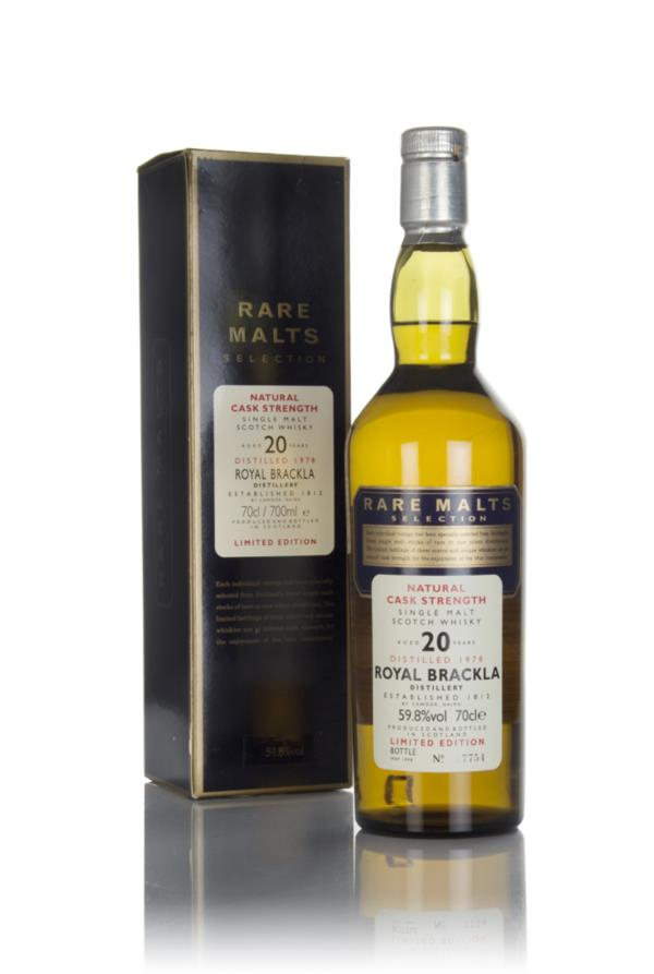 Royal Brackla 20 Year Old 1978 - Rare Malts Single Malt Whisky