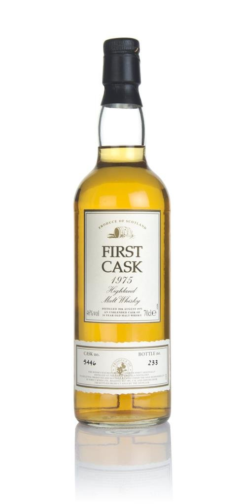 Royal Brackla 24 Year Old 1975 (cask 5446) - First Cask Single Malt Whisky