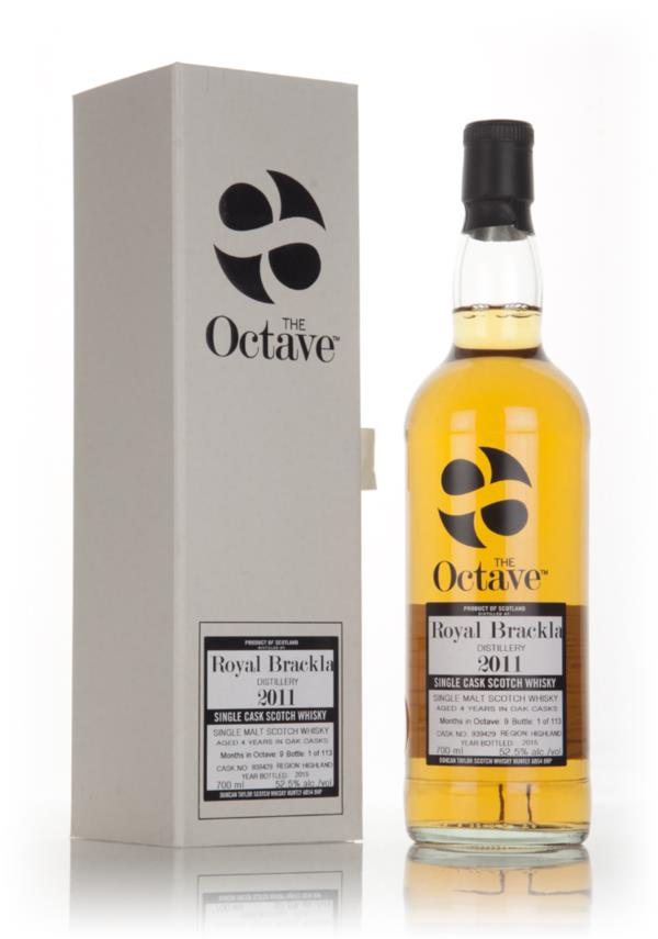 Royal Brackla 4 Year Old 2011 (cask 939429) - The Octave (Duncan Taylo Single Malt Whisky