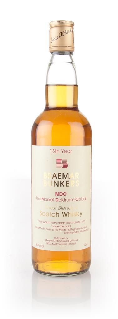 Braemar Bunkers 13th Year - 1990s Blended Whisky
