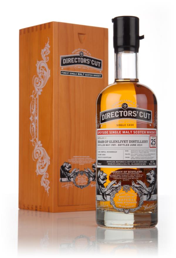 Braes Of Glenlivet 25 Year Old 1989 (cask 10350) - Directors' Cut (Dou Single Malt Whisky