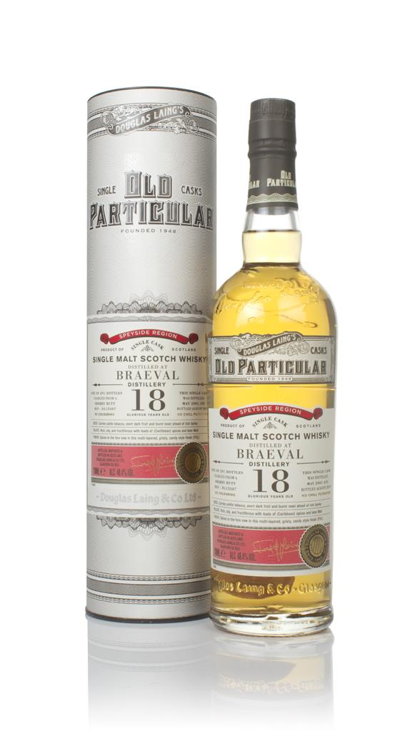 Braeval 18 Year Old 2001 (cask 13507) - Old Particular (Douglas Laing) Single Malt Whisky