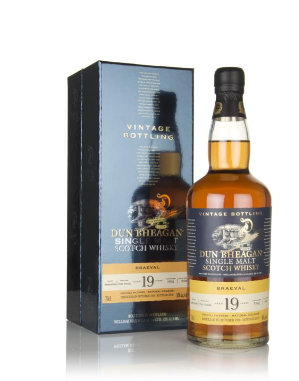 Braeval 19 Year Old 1998 (cask 93961) - Dun Bheagan (Ian Macleod) Single Malt Whisky