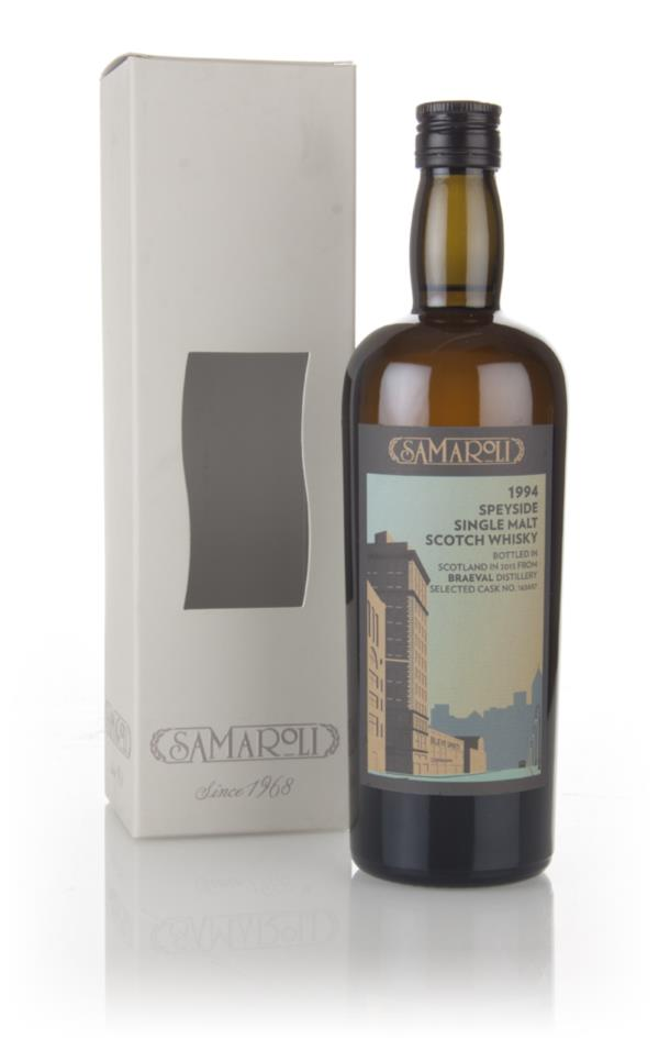 Braeval 1994 (bottled 2015) (cask 165657) - Samaroli 3cl Sample Single Malt Whisky