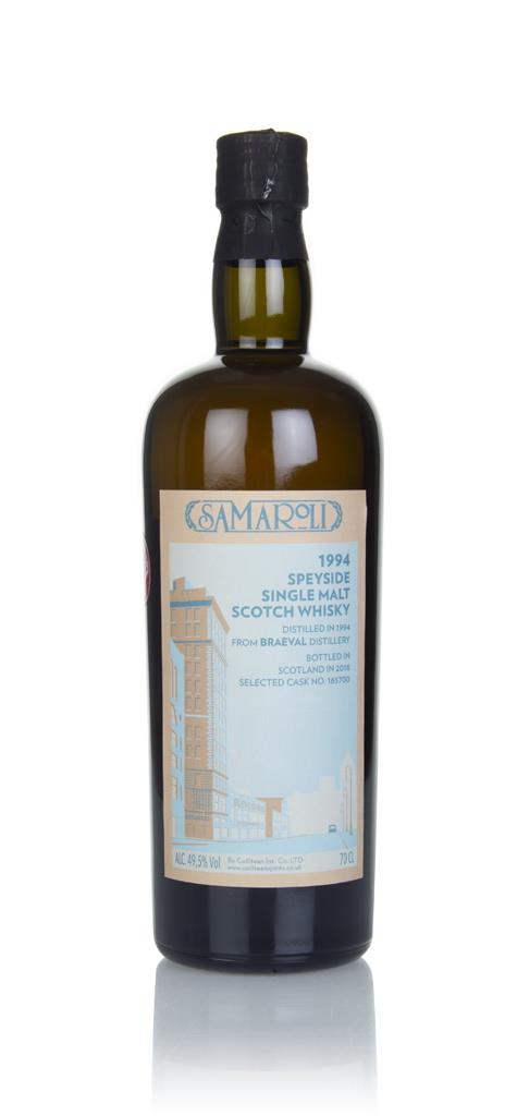 Braeval 1994 (bottled 2018) (cask 165700) - Samaroli Single Malt Whisky