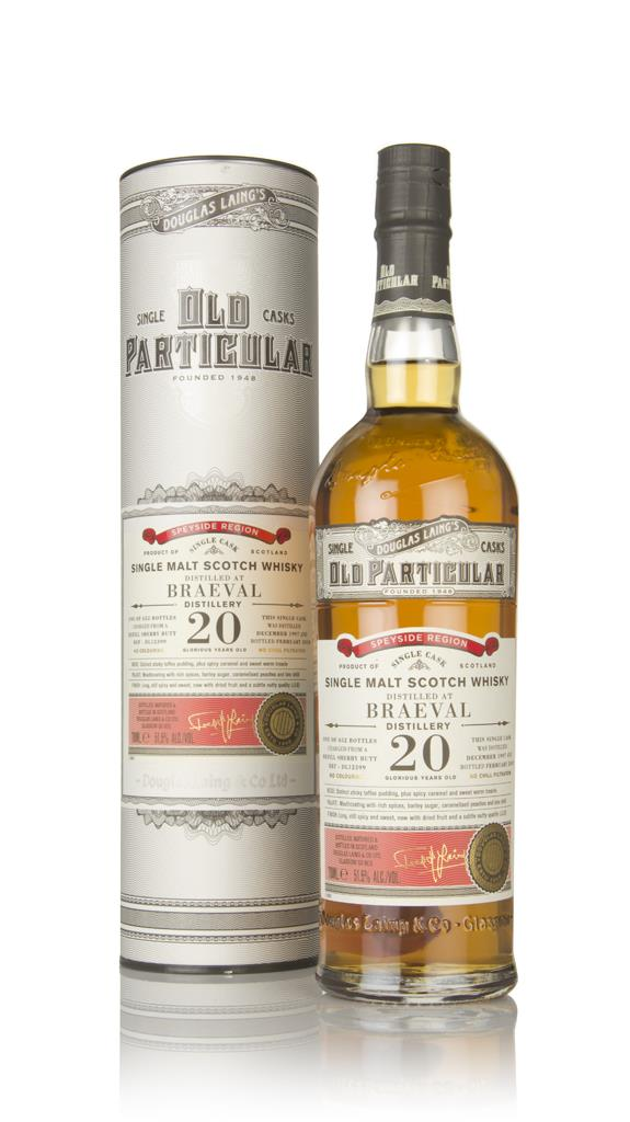 Braeval 20 Year Old 1997 (cask 12399) - Old Particular (Douglas Laing) Single Malt Whisky