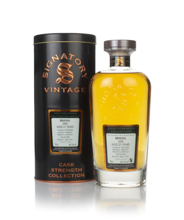 Braeval 21 Year Old 2000 (cask 6393) - Cask Strength Collection (Signa Single Malt Whisky
