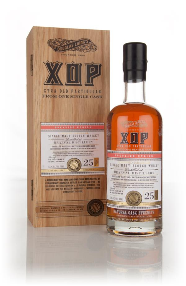 Braeval 25 Year Old 1990 (cask 11008) - Xtra Old Particular (Douglas L Single Malt Whisky 3cl Sample