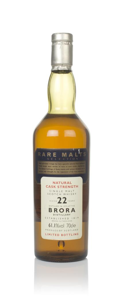 Brora 22 Year Old 1972 - Rare Malts Single Malt Whisky