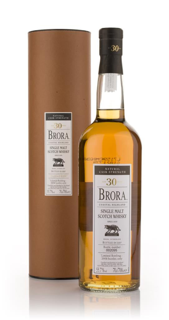 Brora 30 Year Old (2007 Special Release) Single Malt Whisky