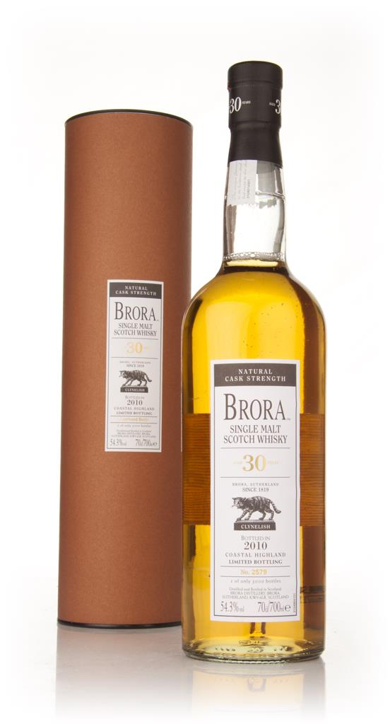 Brora 30 Year Old (2010 Special Release) 3cl Sample Single Malt Whisky